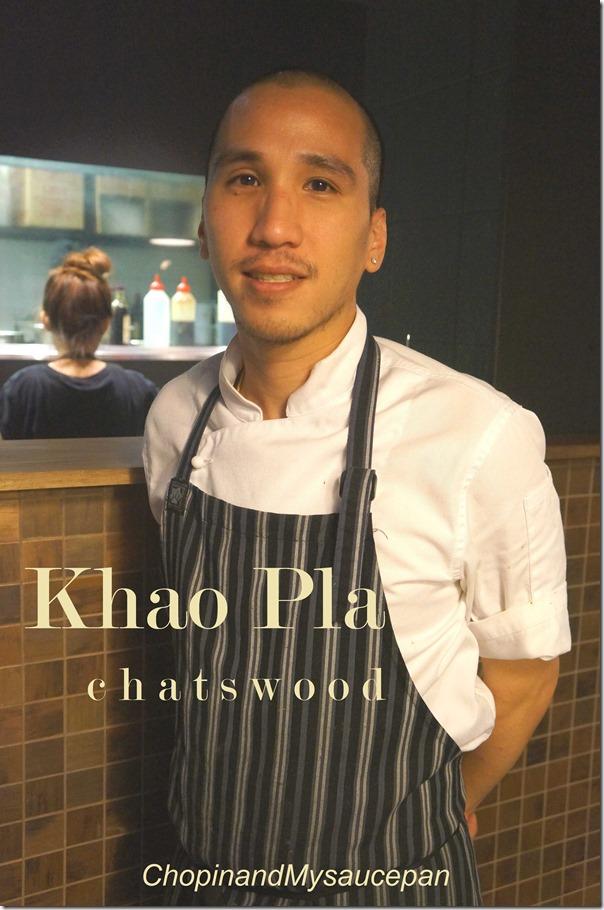 Pla Rajoratanavichai of Thai restaurant Khao Pla, Chatswood