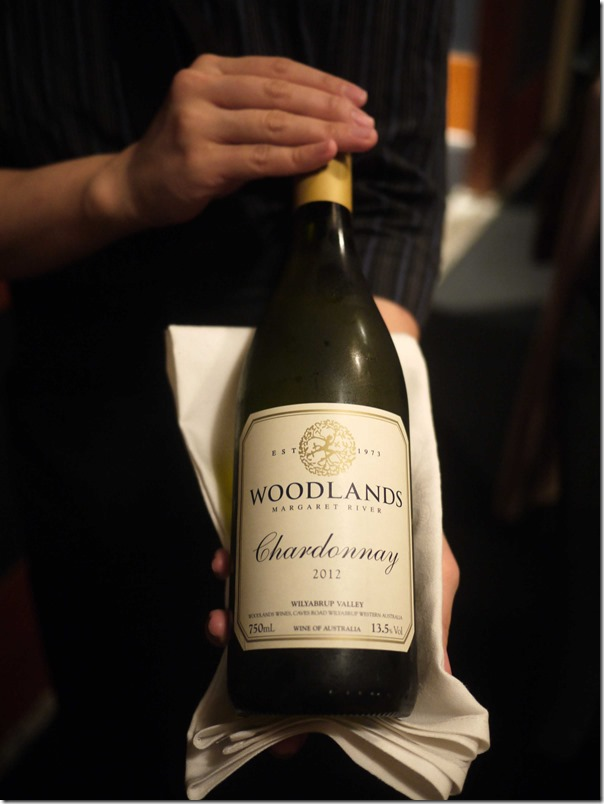 2012 Woodlands Chardonnay, Margaret River, Western Australia $48