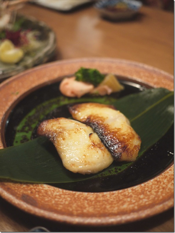 Grilled silver cod fillets marinated in saikyo miso $26