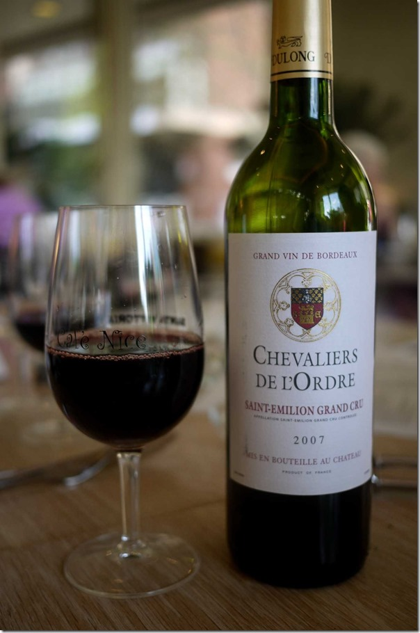 2007 Chaveliers De Lordre Saint-Emilion Grand Cru $50