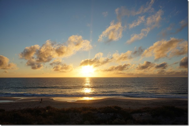 Sunset at Cottesloe beach, Perth, Western Australia