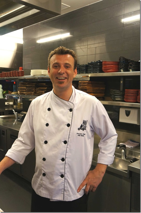 John Rankin, Executive Chef of WAITAN, Haymarket Chinatown