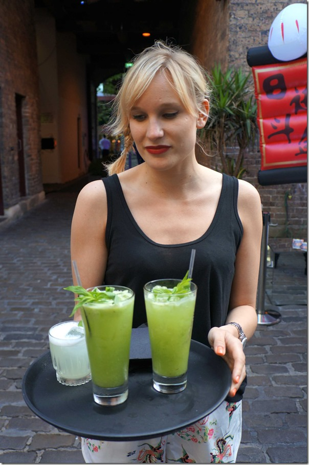 Cucumber, Vodka and Cointreau