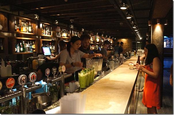 Cocktail bar at The Argyle, The Rocks Sydney