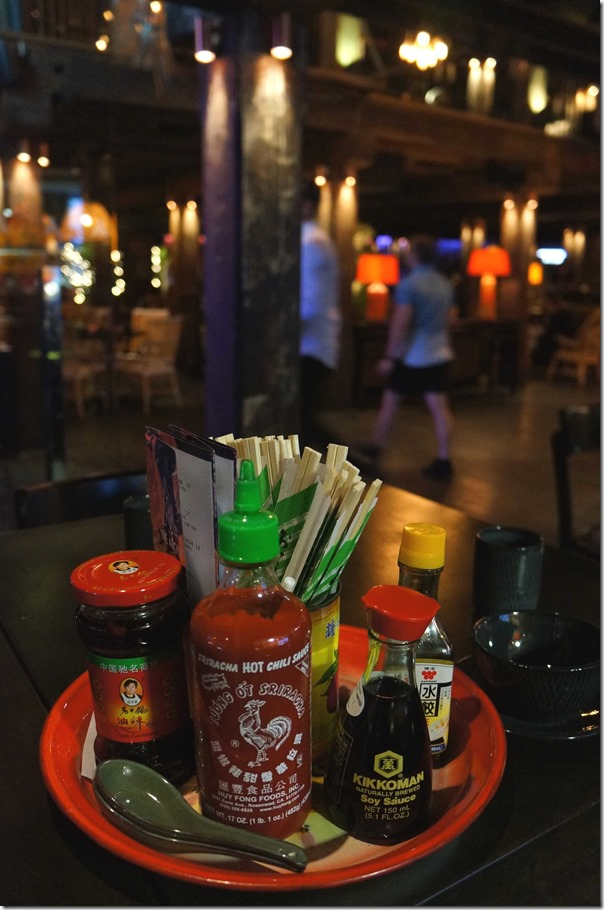 Sauces and condiments for a dumpling good time - The Argyle, The Rocks Sydney