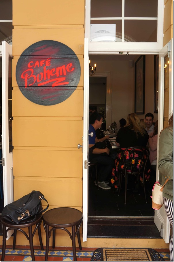 Cafe Boheme Potts Point