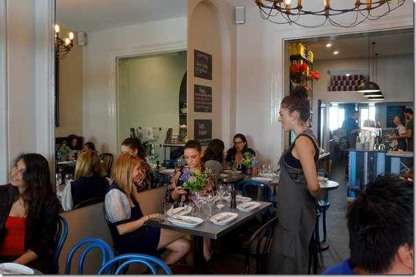 Dining room, Cafe Boheme, Potts Point