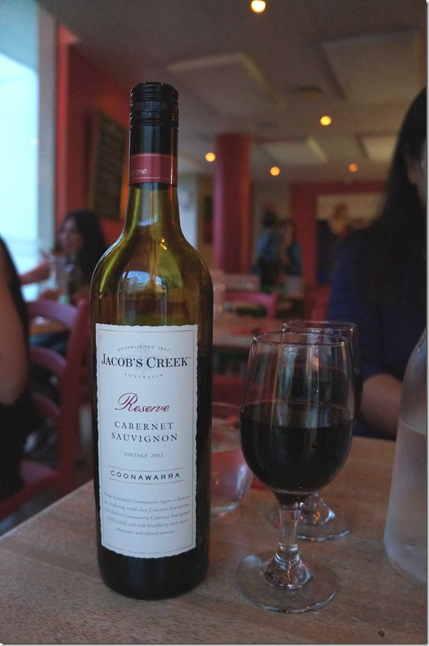 2012 Jacob's Creek Reserve Cabernet Sauvignon