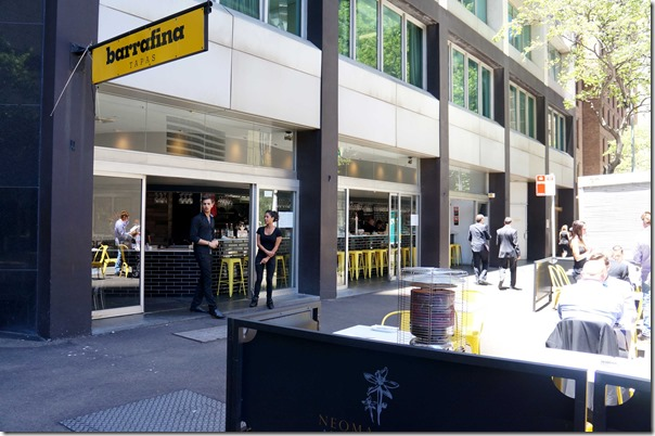 Barrafina Tapas Bar, Sydney
