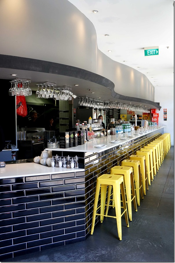 Bar dining, Barrafina Tapas Bar, Sydney