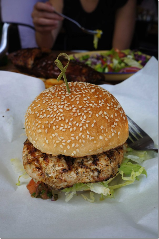 Cajun chicken burger $14