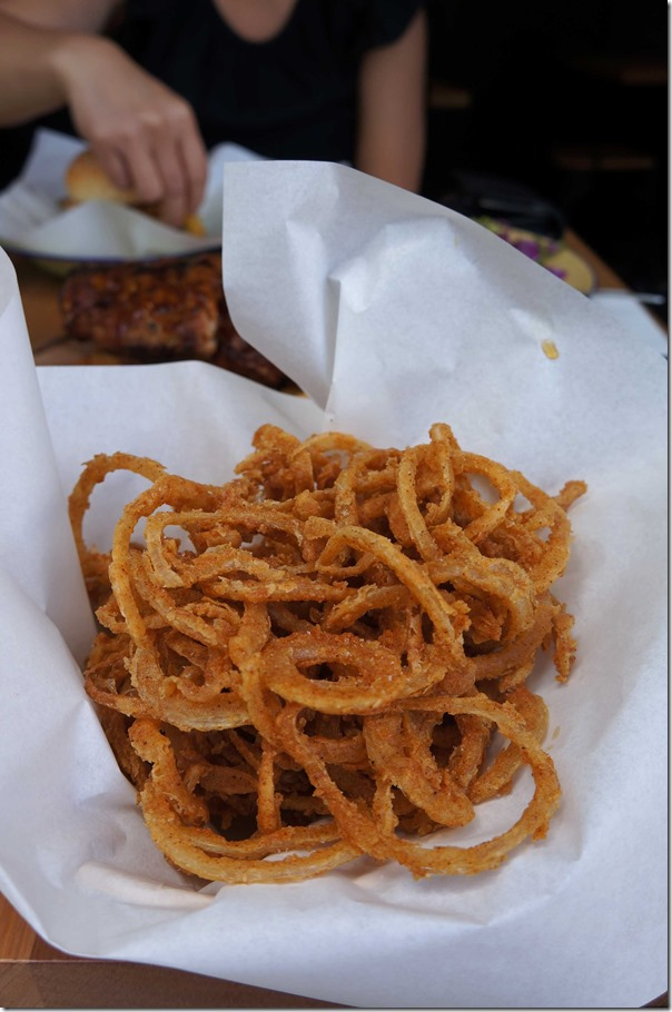 Onion rings $5