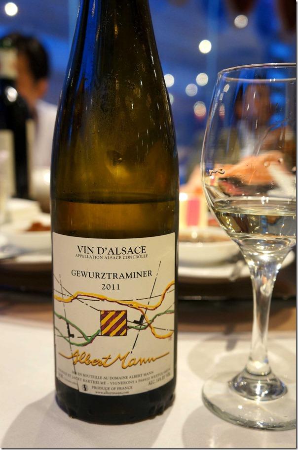2011 Albert Mann Vin D'Alsace Gewurztraminer