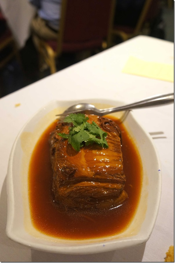 Braised pork belly in special sauce $26