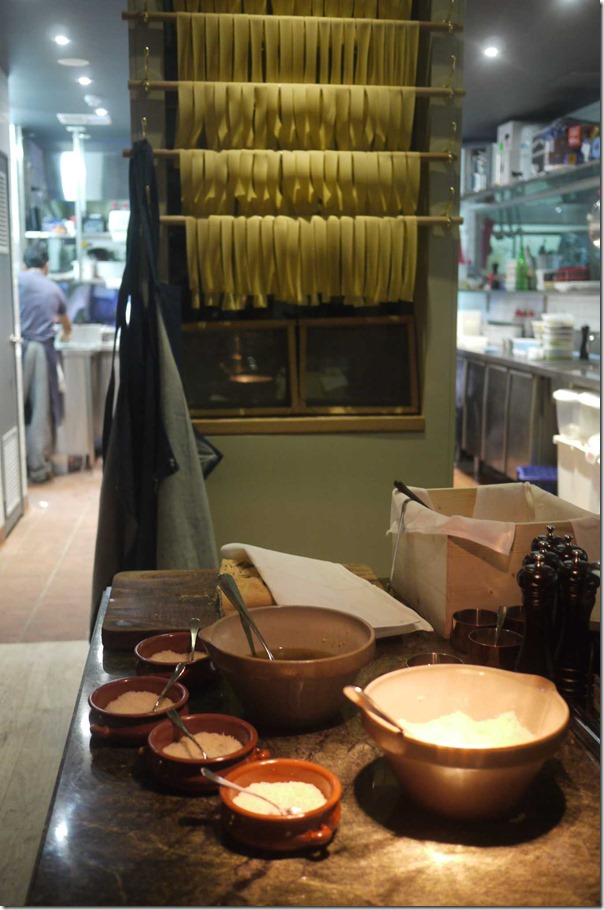 Fresh pasta and cheeses, A Tavola, Bondi