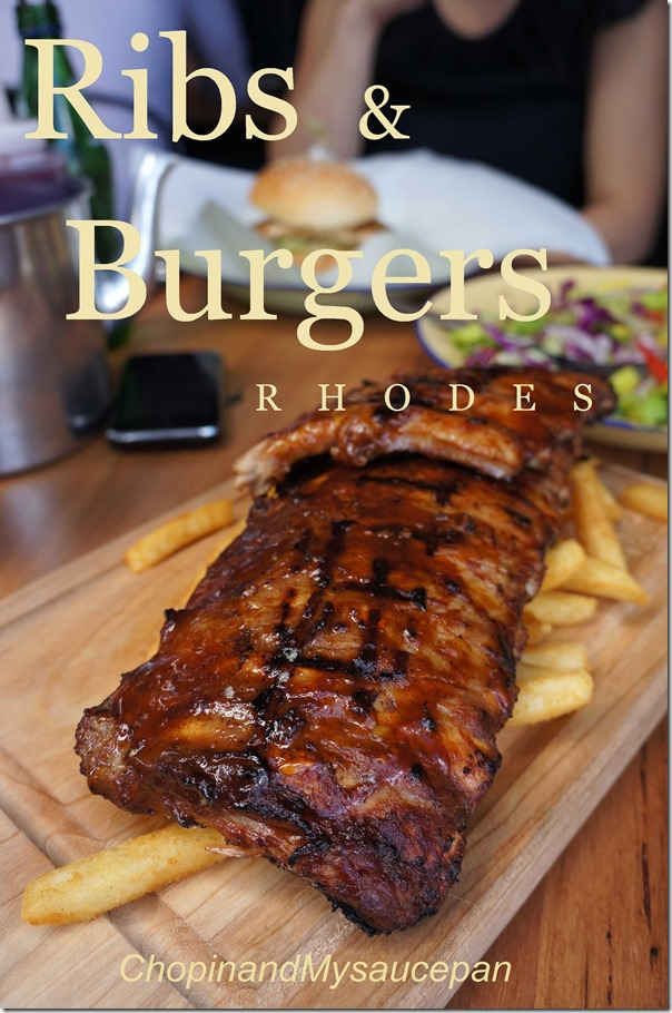 ribs burgers rhodes chopinandmysaucepan. Black Bedroom Furniture Sets. Home Design Ideas