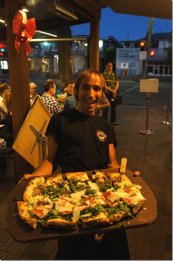 Buona Sera!! Half metre long pizza