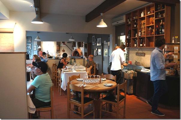 Dining room, La Botte D'oro, Leichhardt