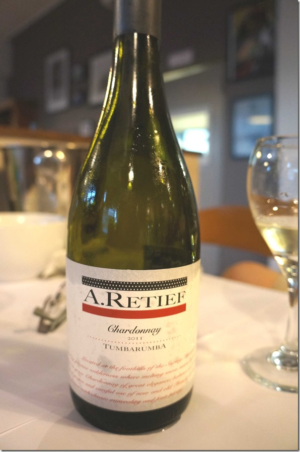 A. Retief Chardonnay