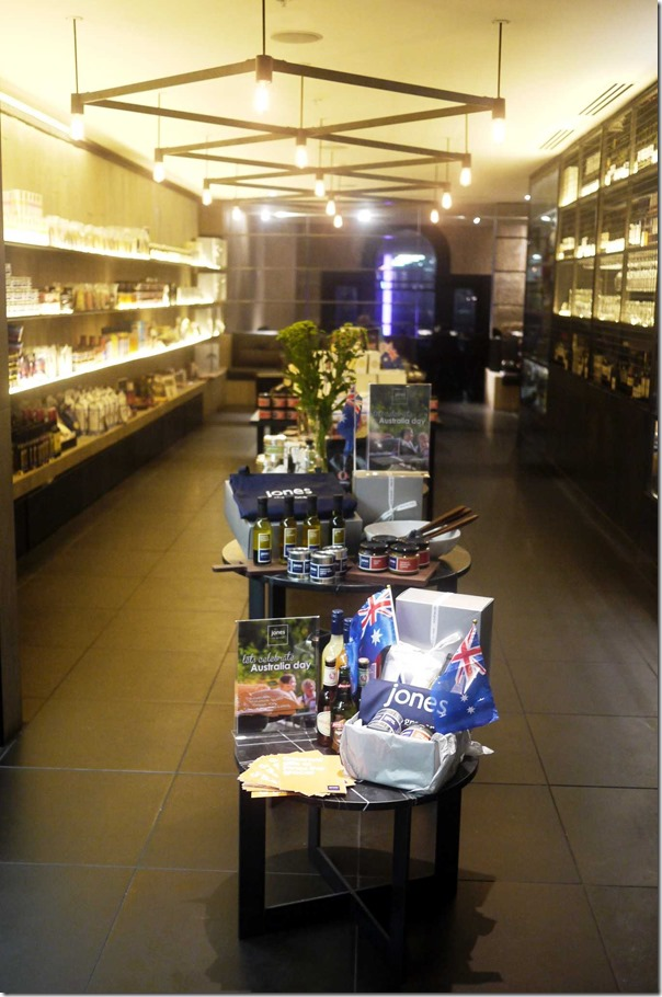 Grocery section of jones the grocer, Level 5, Westfield Sydney