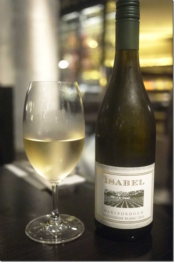 2013 Isabel Estate Sauvignon Blanc $9 glass $50 bottle