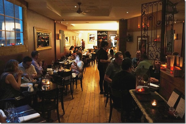 Main dining room, Antoine's Grill, Concord