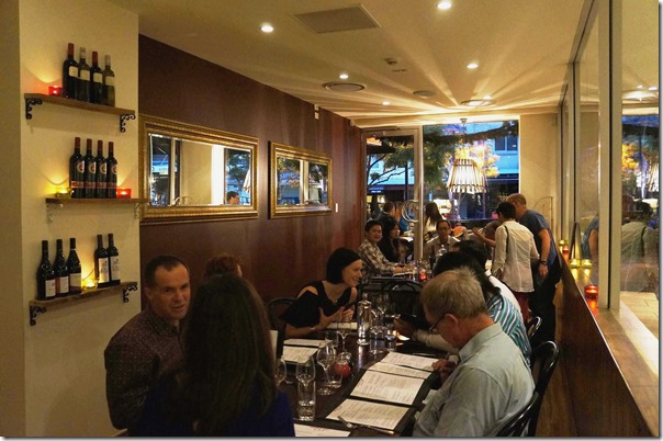 Second dining room, Antoine's Grill, Concord