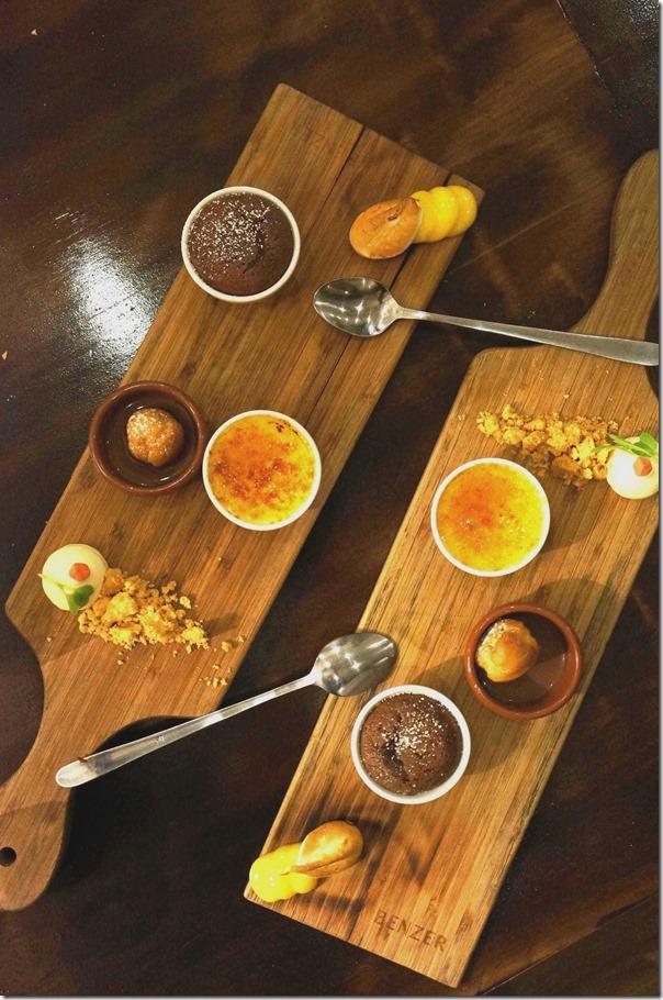 Desserts platter (complimentary)