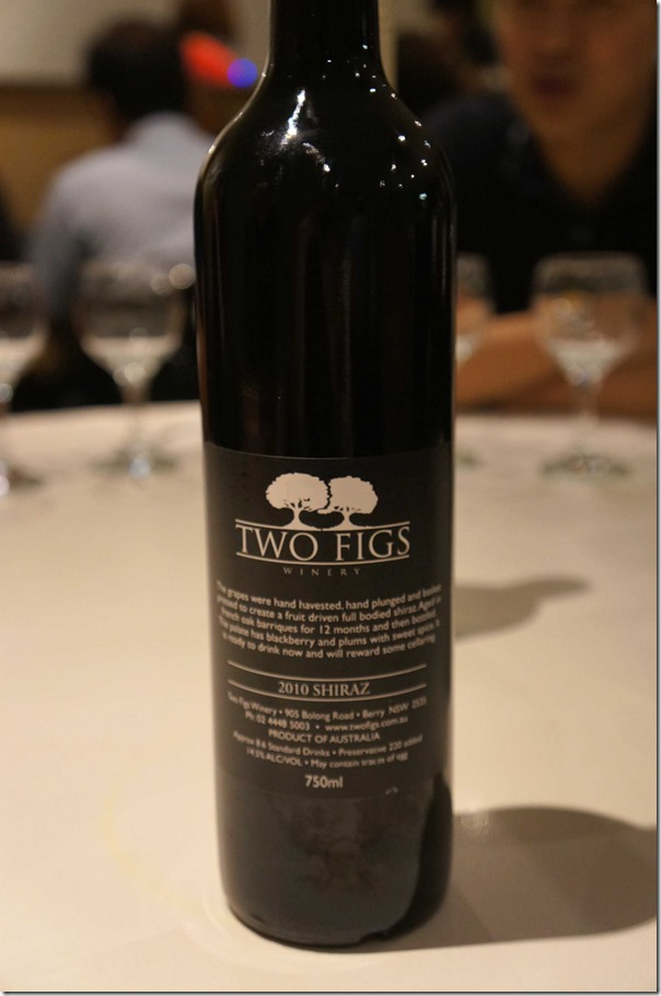 2010 Two Figs Shiraz