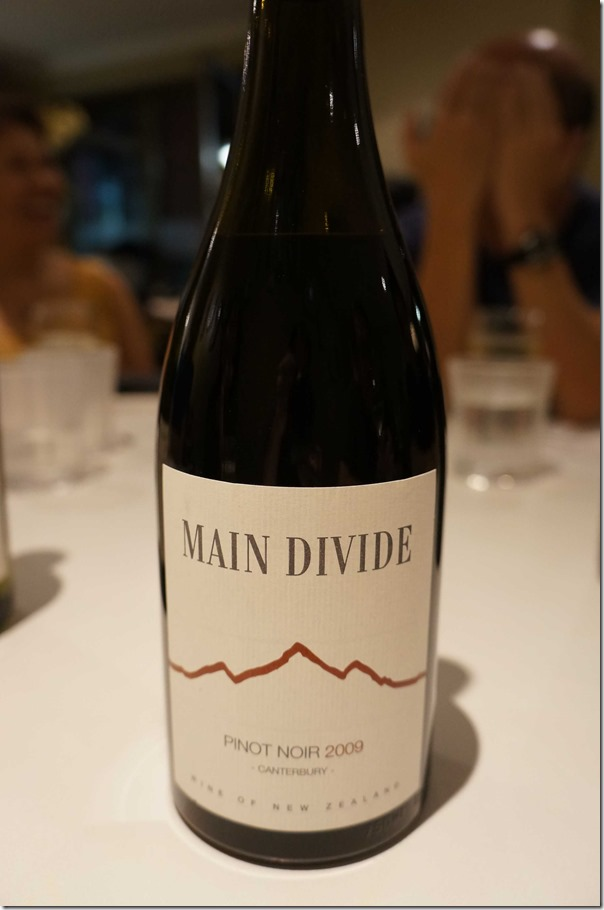 2009 Main Divide Pinot Noir