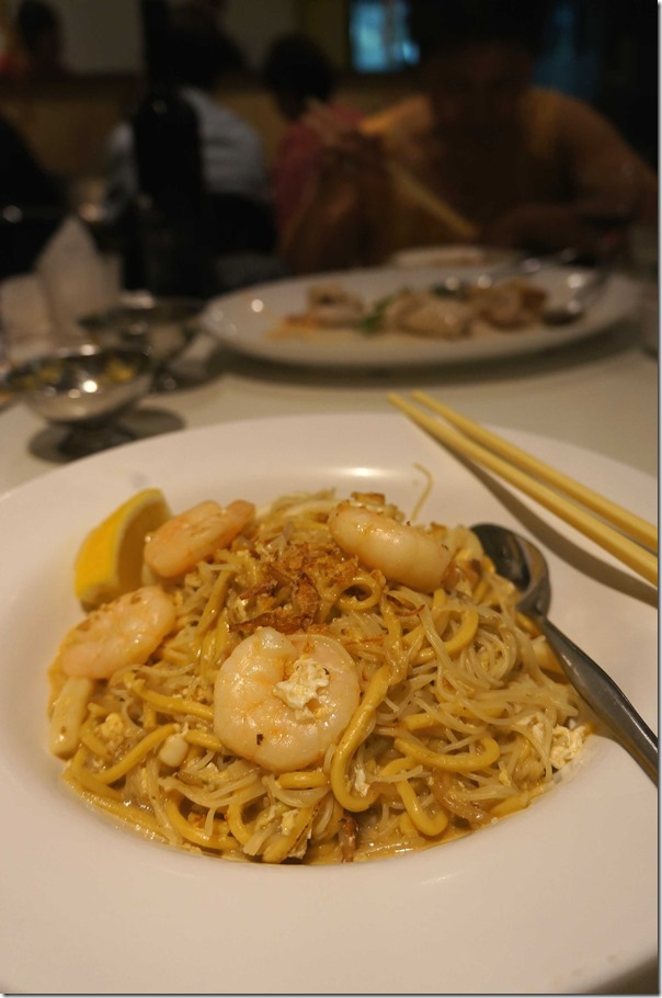 Fried Hokkien noodles Singapore style $15.80