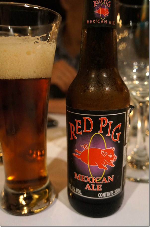 Red Pig Mexican Ale $9