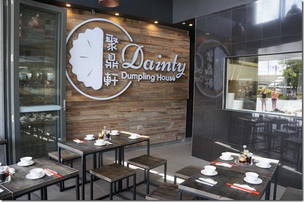 Dining room ~ Dainty Dumpling House, Rhodes