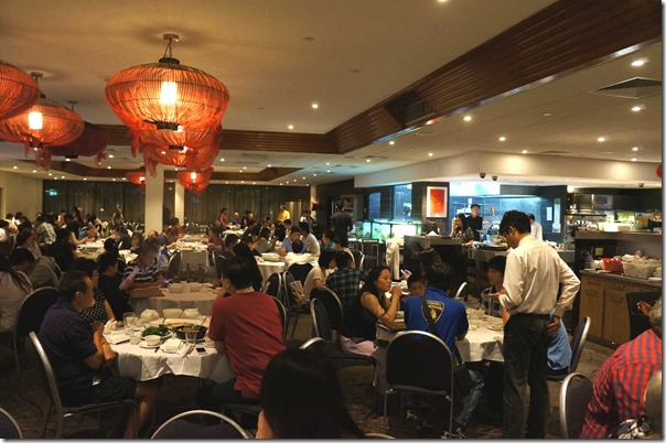 Dining room, Tingha Chinese Restaurant, Homebush West