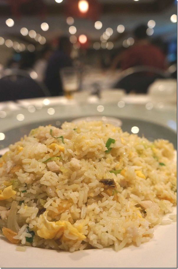 Chinese fried rice with chicken and salted fish $18.80