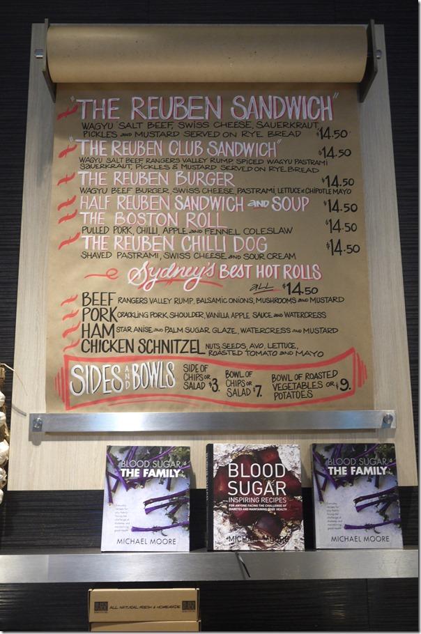 The Reuben Sandwich ~ Reuben & Moore, Westfield Sydney