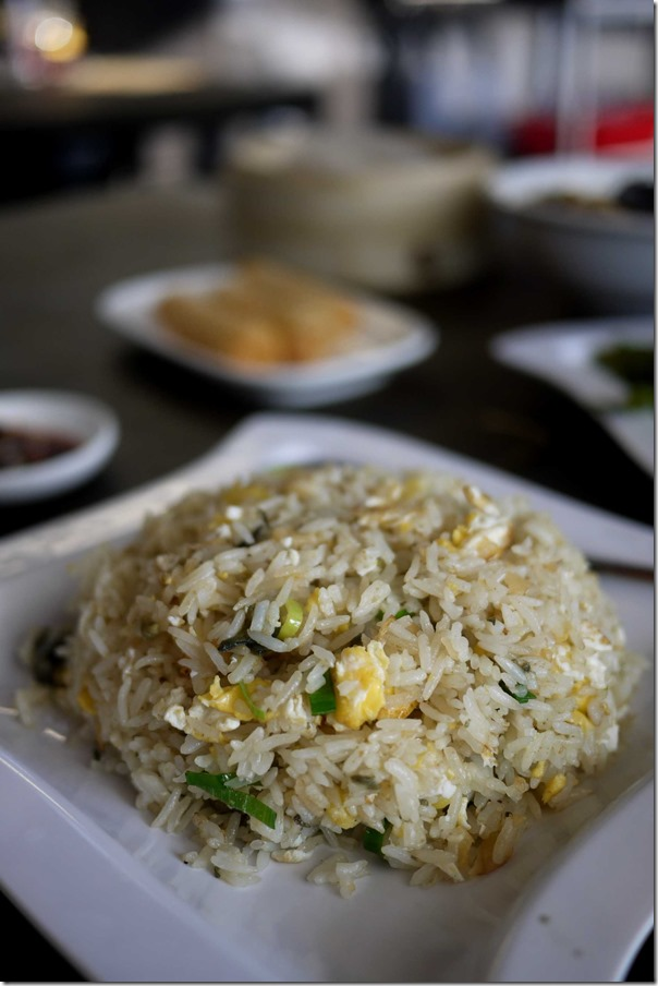 Fried rice with three kinds of eggs $10.80