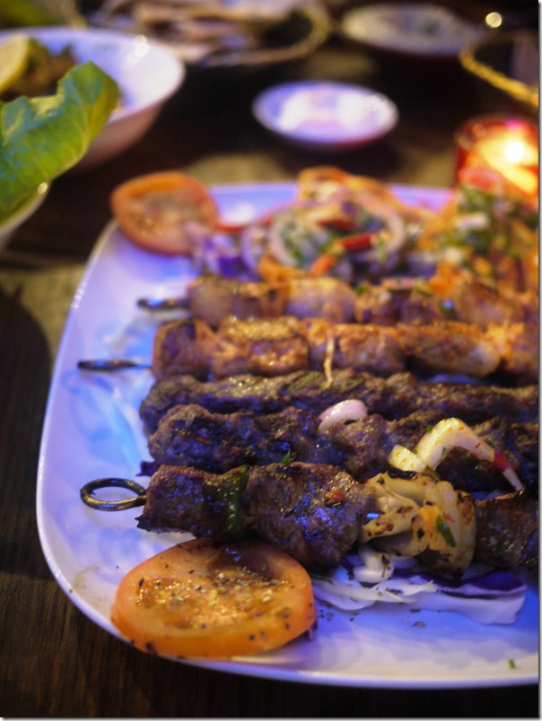 Mixed Shish Kebab $24