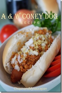 A &  W Coney Dog recipe