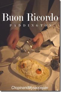 Buon Ricordo - Truffle & egg pasta