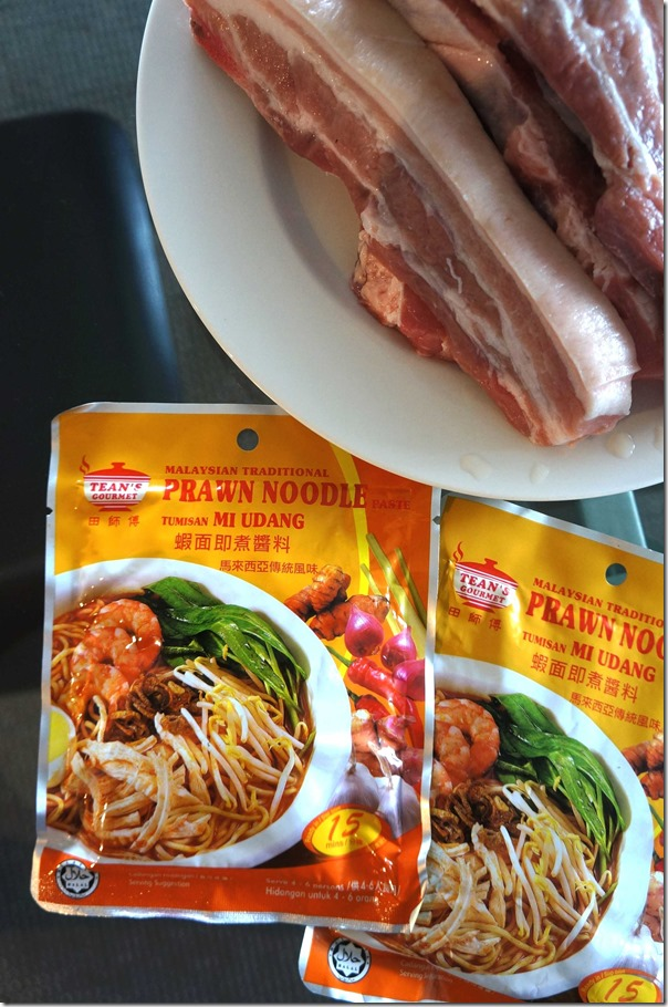 Tean's Gourmet prawn noodle paste