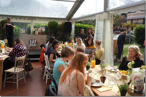 Breakfast with Bill Granger, Cook Community Garden, Waterloo