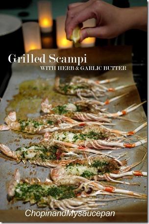 Grilled Scampi