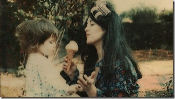 Martha Argerich with young Stéphanie
