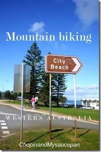 Mountain biking City Beach