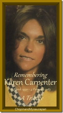 Remebering Karen Carpenter