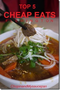 Top 5 Cheap Eats Flemington