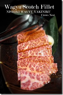 Wagyu Scotch fiillet