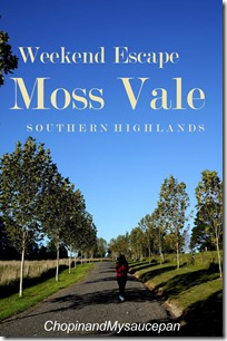 Weekend Escape to Moss Vale, Southern Highlands