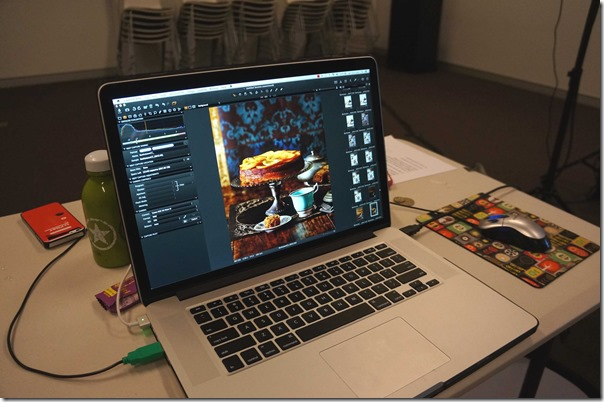 Food photography ~ Tanya Zouev's laptop